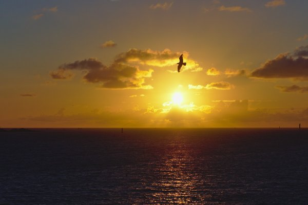 Coucher de soleil à St Malo