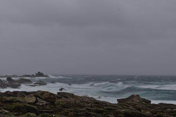 tempête à Saint Guénolé