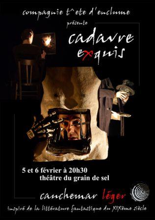 Flyer Cadavre Exquis 5 & 6 février 2010