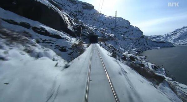 Railway to Oslo, avr. 2020