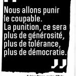 Générosité, tolérance, démocratie