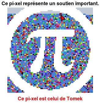 Pixel de soutien LQDN