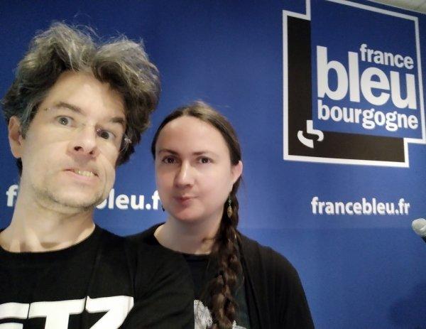 MK @ France Bleu Bourgogne, sept. 2019