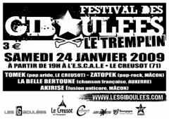 Affiche tremplin Giboulées 2009